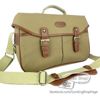 กระเป๋ากล้องแฟชั่นเกาหลี Trendy Bag Cappuccino (L)
