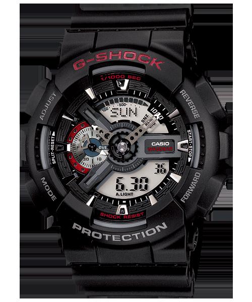 นาฬิกา คาสิโอ Casio G-Shock Standard Analog-Digital รุ่น GA-110-1A (DARK SAMURAI)