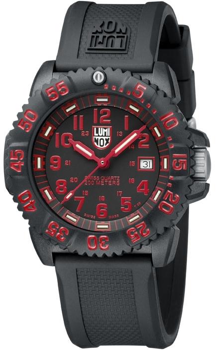 นาฬิกา Luminox รุ่น LUMINOX 3065 Evo Navy Seal Dive Watch Colormark (red)