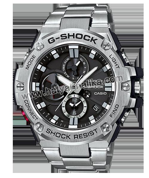 นาฬิกา Casio G-Shock G-STEEL Transformer wtih Blutooth series รุ่น GST-B100D-1A ของแท้ รับประกัน1ปี (หายากมาก)