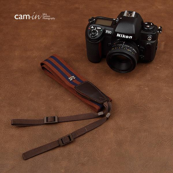 สายคล้องกล้องเท่ห์ cam-in Brilliant Blue
