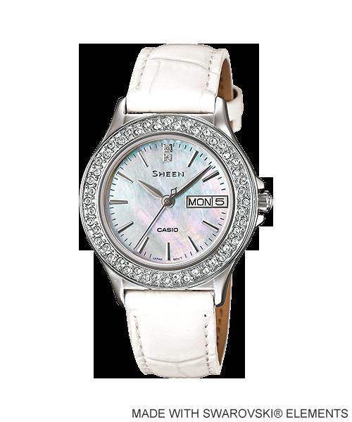 นาฬิกา คาสิโอ Casio SHEEN 3-HAND ANALOG รุ่น SHE-4800L-7A