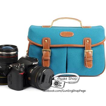 กระเป๋ากล้อง dslr Trendy Bag Blue Hawaii Bag (ขนาดกลาง)