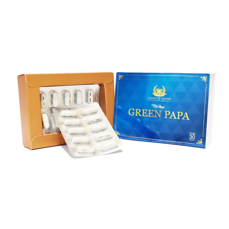 Green papa กรีนปาปา คืนความเป็นชายให้มีสุขภาพแข็งแรง