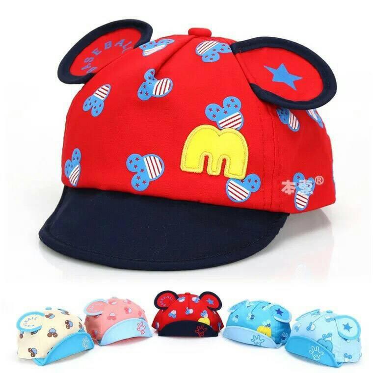 หมวกแก๊ปเด็ก สไตล์เกาหลี