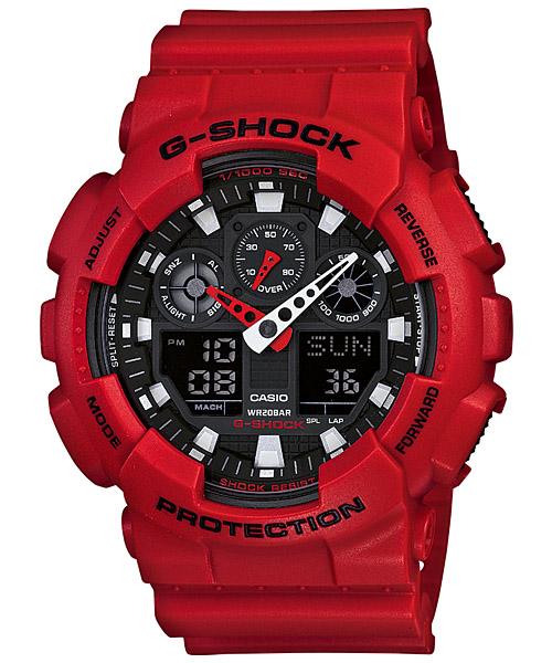 นาฬิกา คาสิโอ Casio G-Shock Standard Analog-Digital รุ่น GA-100B-4ADR