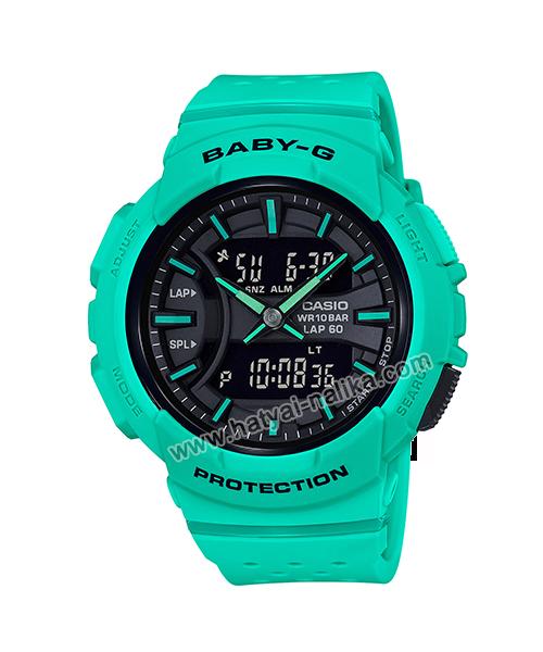 นาฬิกา Casio Baby-G for Running BGA-240 Neon Color series รุ่น BGA-240-3A ของแท้ รับประกัน1ปี