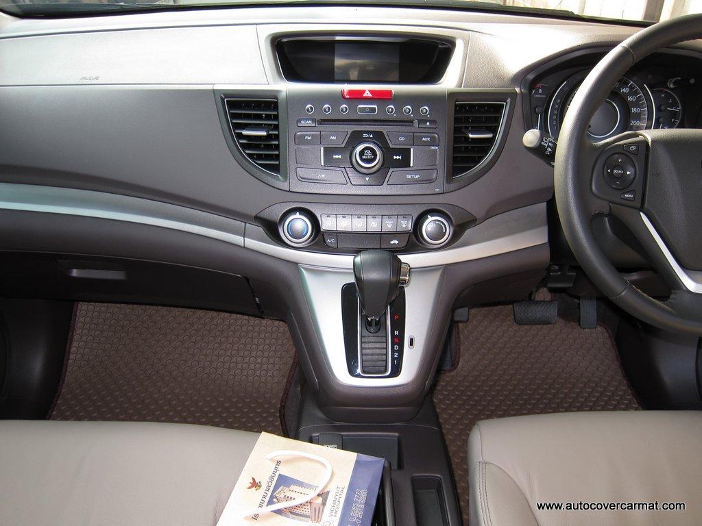 พรมกระดุม Original ชุด All Full จำนวน 7 ชิ้น Honda New CRV Gen 4 ปี 2013-2018