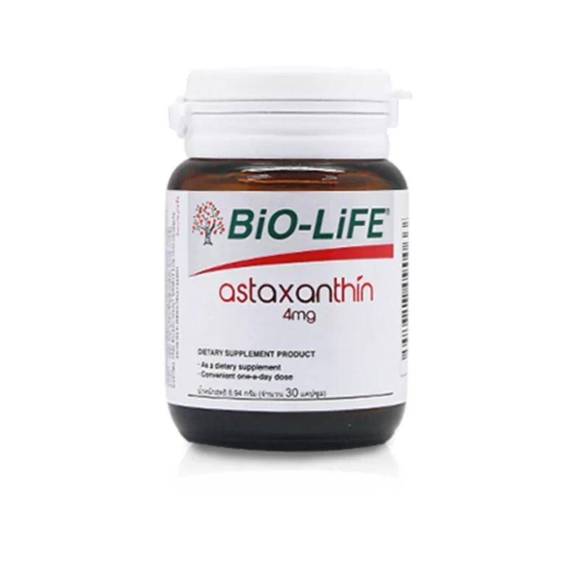 Bio-life astaxanthin 4mg 30s