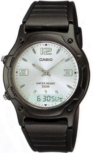 นาฬิกา คาสิโอ Casio STANDARD ANALOG-DIGITAL รุ่น AW-49HE-7A