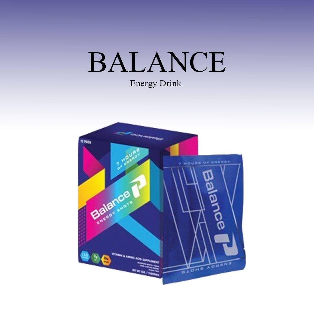 Balance P Energy Shots ดื่มบล้านซ์พี สดชื่น เพิ่มพลังงาน เผาผลาญไขมัน