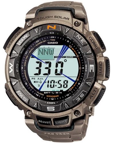 นาฬิกา คาสิโอ Casio PRO TREK DUAL-LAYER LCD รุ่น PRG-240T-7VDR