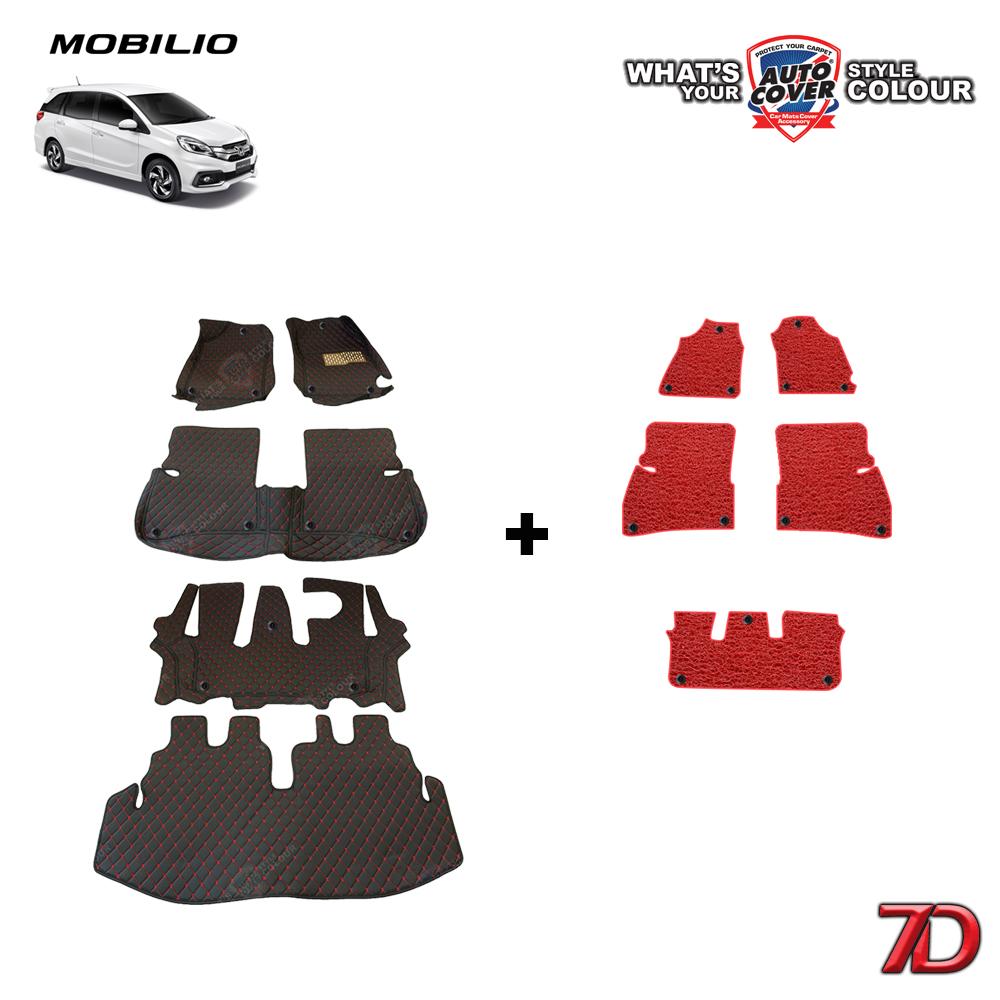 พรมรถยนต์ 7 D Anti Dust รถ HONDA MOBILIO ปี 2017-2021