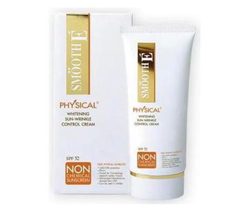 Smooth E Physical Sunscreen White Babyface UV Expert SPF50 PA+++15 G.