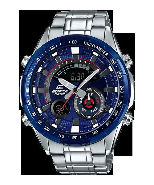 นาฬิกา Casio EDIFICE CHRONOGRAPH Racing Blue series รุ่น ERA-600RR-2AV ของแท้ รับประกัน 1 ปี