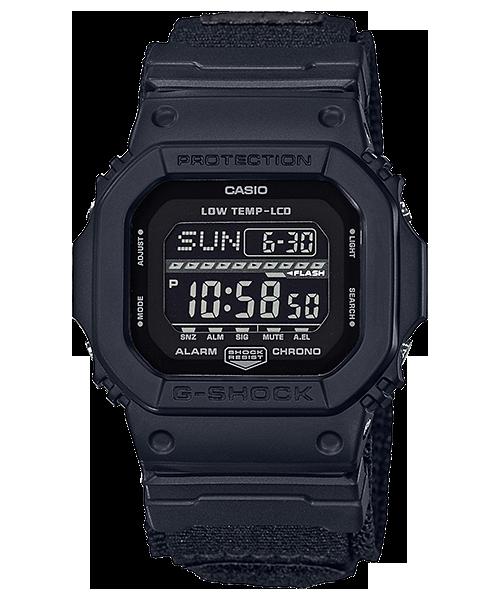 นาฬิกา Casio G-Shock G-LIDE Winter 2017 GLS-5600WCL Velcro Cloth Band Military Color series รุ่น GLS-5600WCL-1 (สายผ้าตีนตุ๊กแก) ไม่วางขายในไทย (นำเข้า Japan) ของแท้ รับประกัน1ปี