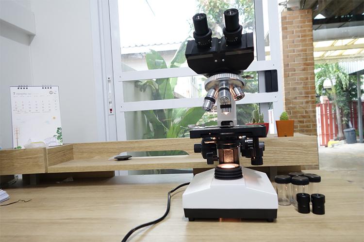 กล้องจุลทรรศน์ สองตา 1600X ระดับมืออาชีพ (AXS1006)