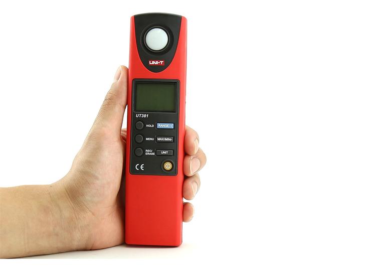 เครื่องวัดแสง 0-199,999 lux (UT381)