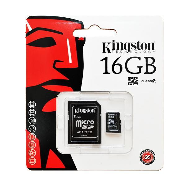 MICRO SD CARD kingston 16 GB
