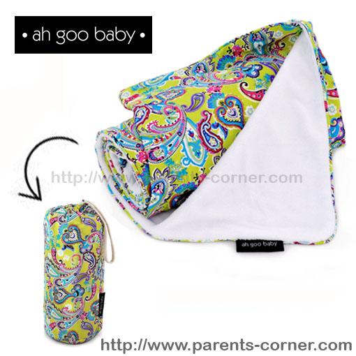 ผ้าห่มพกพา The Stroller Blanket Ah Goo Baby - Bloom