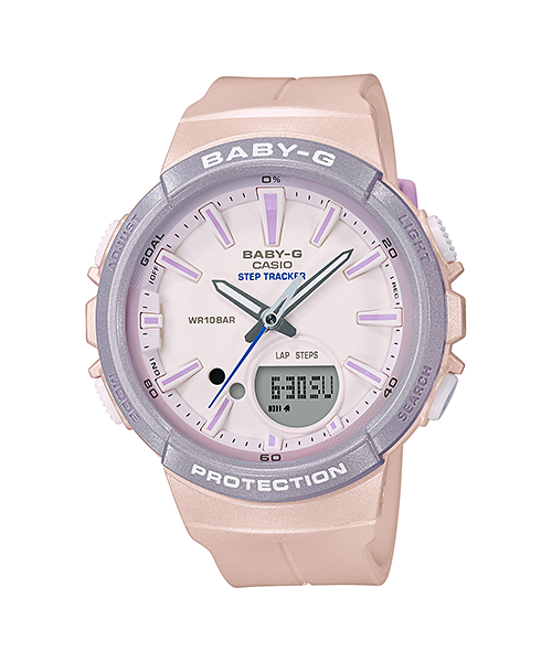 นาฬิกา Casio Baby-G for Running รุ่น BGS-100SC-4A (Pony Unicorn สีชมพู-ม่วง) ของแท้ รับประกัน1ปี