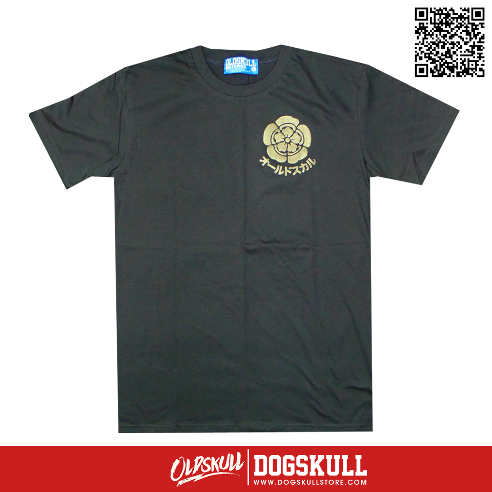 เสื้อยืด OLDSKULL: ULTIMATE | DARK GREY