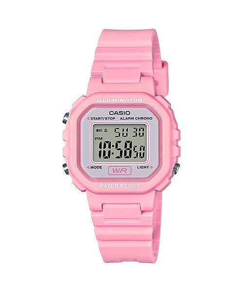 นาฬิกา Casio LADY'S STANDARD DIGITAL LA-20 series รุ่น LA-20WH-4A1 ของแท้ รับประกัน1ปี