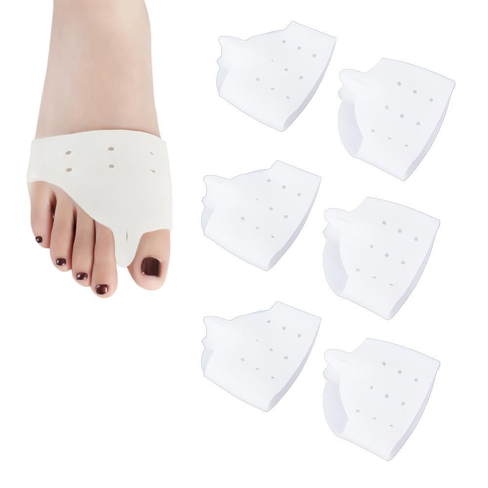 สวมถนอมนิ้วเท้าโก่ง (ใหญ่) (x3คู่)