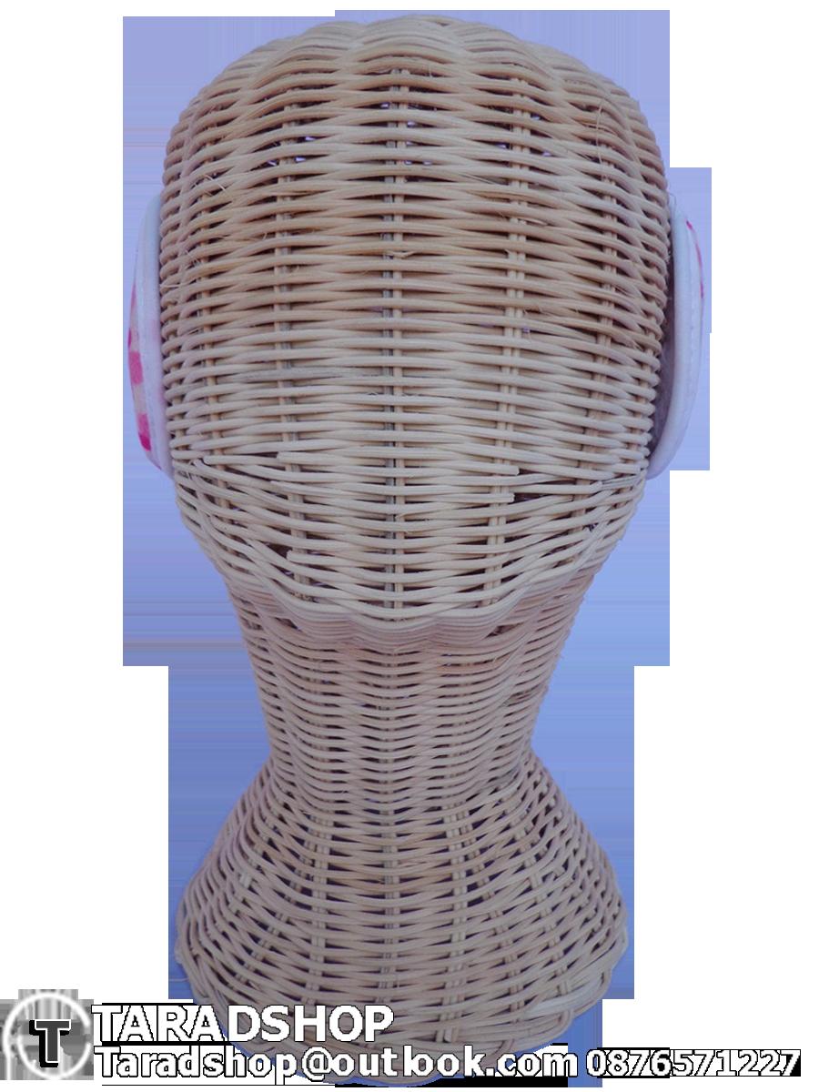 สะเปาหู กันหนาว สีชมพูผสมขาว (ผู้ชาย)