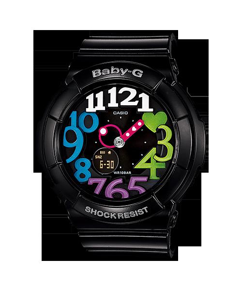 นาฬิกา คาสิโอ Casio Baby-G Neon Illuminator สี POP COLOR รุ่น BGA-131-1B2