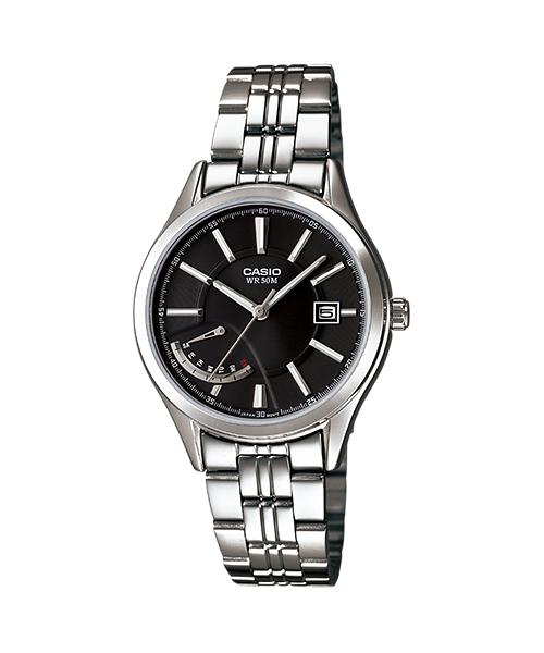 นาฬิกา คาสิโอ Casio STANDARD Analog'women รุ่น LTP-E102D-1AV ของแท้ รับประกัน 1 ปี