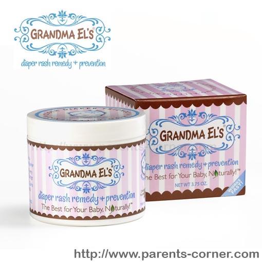 ครีมบรรเทาผื่นผ้าอ้อม Grandma El's Diaper Rash Remedy and Prevention Tube