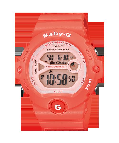 นาฬิกา คาสิโอ Casio Baby-G 200-meter water resistance รุ่น BG-6903-4 สีโอรส
