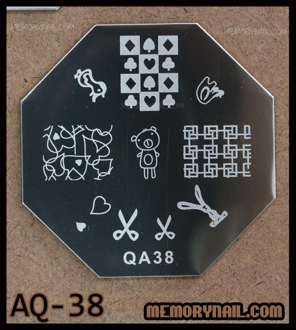 เพลทปั้มลาย,เพลทปั้มลายทรงแปดเหลี่ยม,แผ่นปั๊มลายเล็บ,แผ่นปั๊มลาย,เพลทปั๊มลาย,เพลทปั๊มลายเล็บ