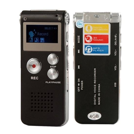 เครื่องบันทึกเสียง GH609 (8GB)