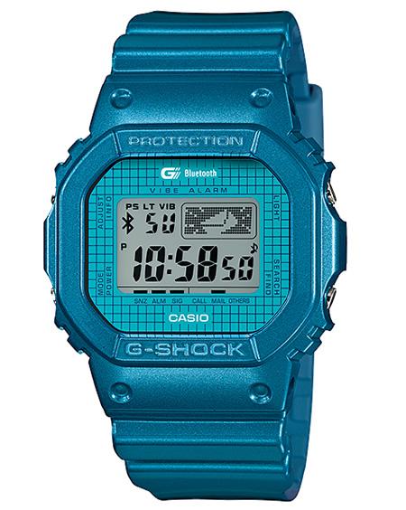 นาฬิกา คาสิโอ Casio G-Shock Bluetooth watch รุ่น GB-5600B-2 [GEN 2] (นำเข้า EUROPE) ไม่มีขายในไทย