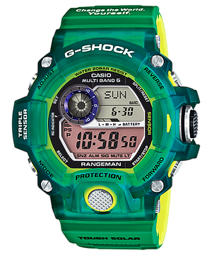 นาฬิกา Casio G-Shock Love the Sea and The Earth 2015 RANGEMAN Limited Japan รุ่น GW-9401KJ-1JR [JAPAN ONLY] (หายากมาก) ของแท้ รับประกัน1ปี