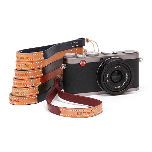 สายคล้องข้อมือกล้องหนังแท้ รุ่น Cam-in Chic Leather Wrist Strap