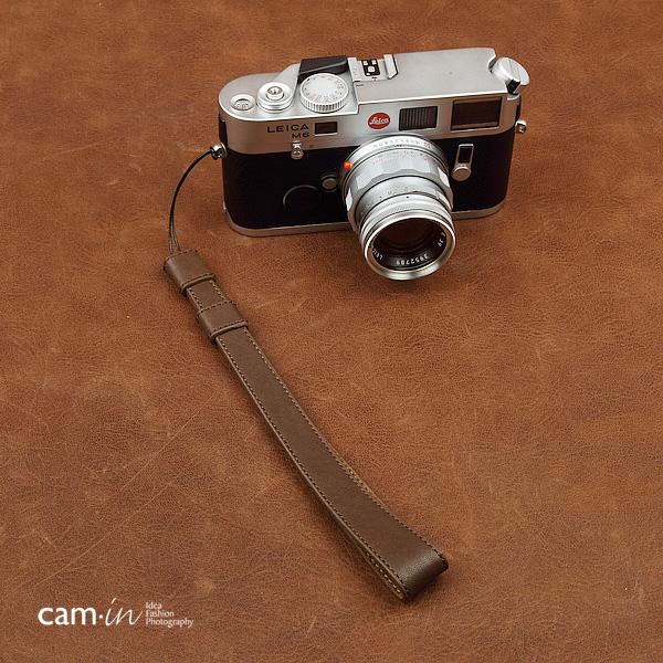 สายคล้องข้อมือกล้อง Camera Wrist Strap กล้อง Mirrorless / Leica รุ่น Classic สีน้ำตาลด้ายน้ำตาล