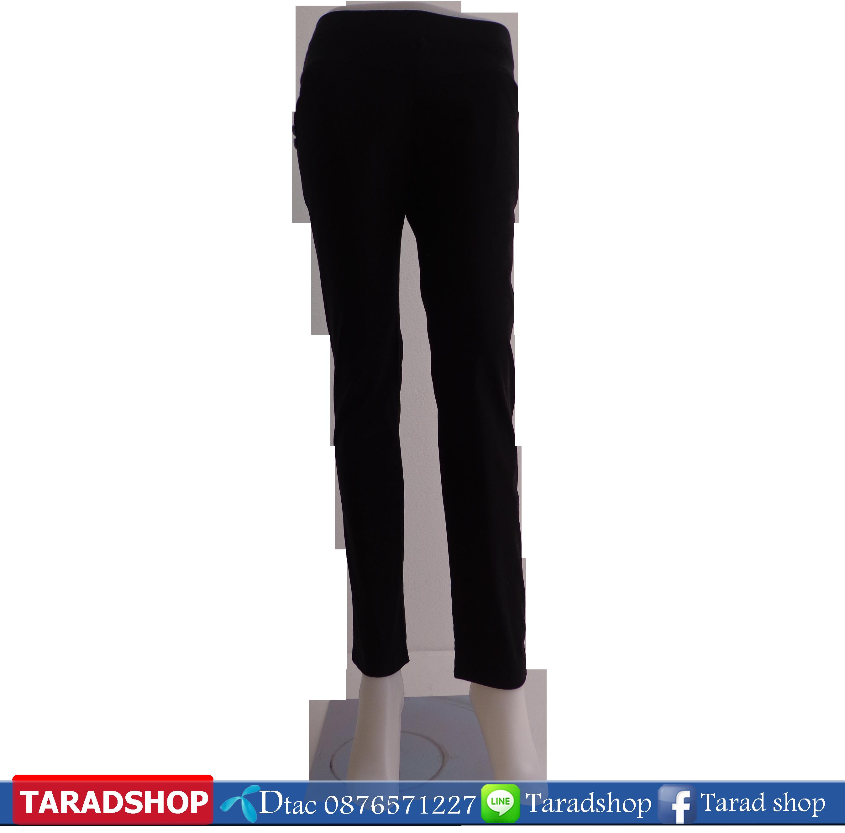 กางเกงขายาว (ผ้าลายสอง)