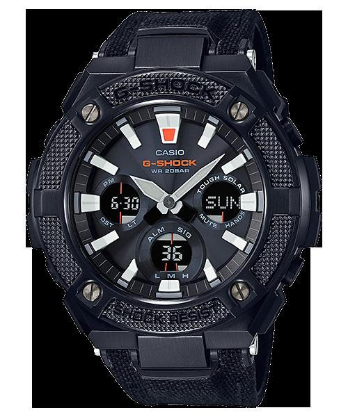 นาฬิกา Casio G-Shock G-STEEL รุ่น GST-S130BC-1A (สายผ้า CORDURA สีดำ) ของแท้ รับประกัน1ปี