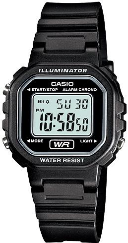 นาฬิกา คาสิโอ Casio LADY'S STANDARD DIGITAL รุ่น LA-20WH-1A