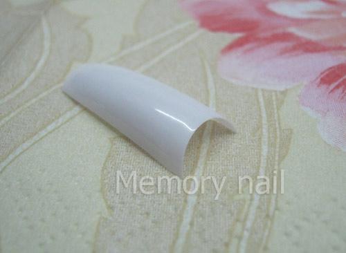 ทริปปลายขาว PVC แบบกล่อง,ทริปปลายขาว,PVCขาว,ต่ออะคริลิคปลายขาว,เล็บปลอมปลายขาว