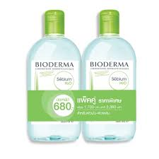 Bioderma sebium 500ml 2 ขวด