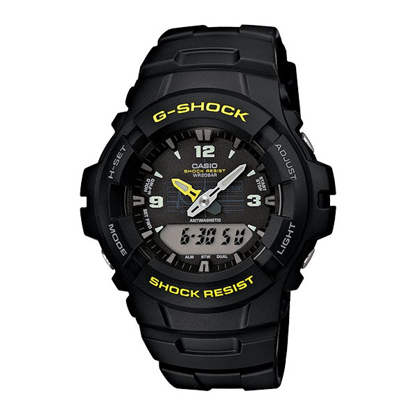 นาฬิกา Casio G-Shock Standard Analog-Digital รุ่น G-100-9CM ของแท้ รับประกัน1ปี