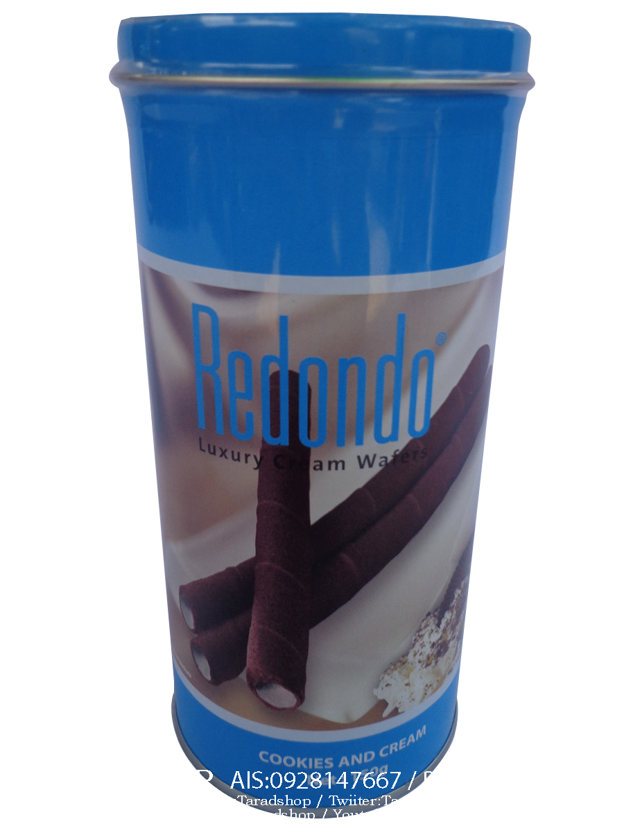 redondo คุกกี้ครีม (ชนิดกระปุก)