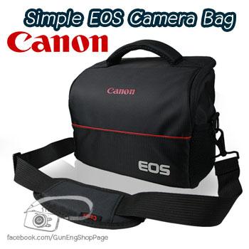 กระเป๋ากล้อง Canon รุ่น Simple EOS สำหรับ 60D 70D 550D 600D 650D 700D ฯลฯ