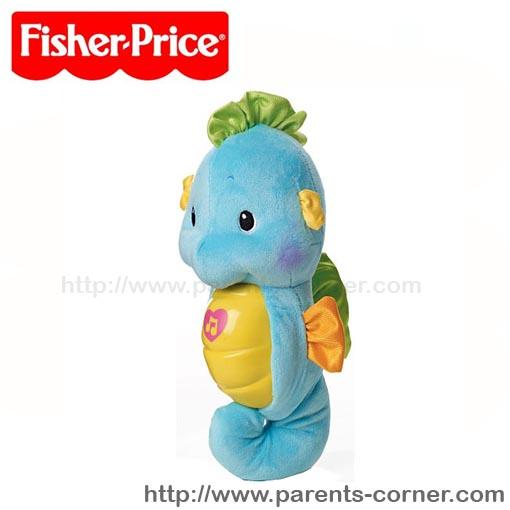 ม้าน้ำกล่อมน้อง Fisher-Price - ฟ้า