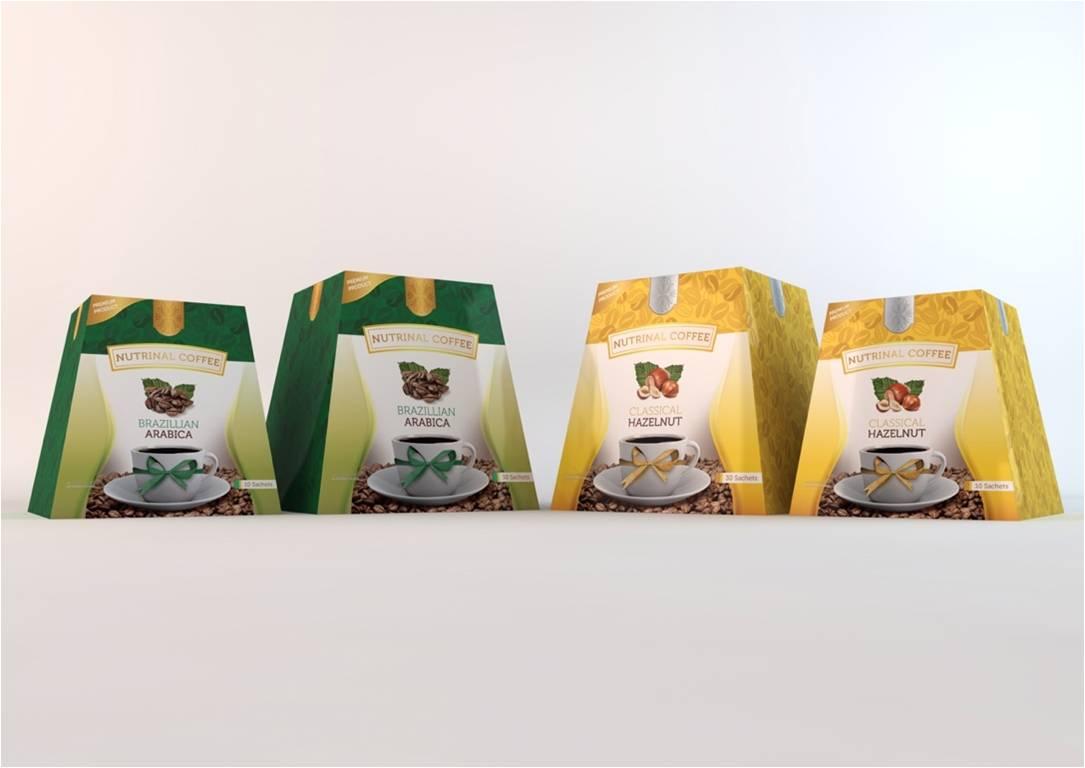 กาแฟลดน้ำหนัก Nutrinal Coffee Classical Hazelnut ผลิตภัณฑ์กาแฟ คลาสสิคเคิล ฮาเซลนัท
