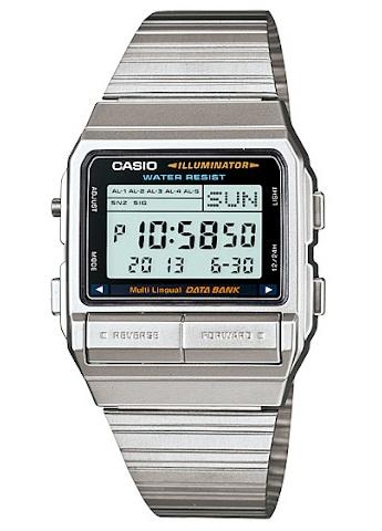 นาฬิกา คาสิโอ Casio Data Bank รุ่น DB-380-1